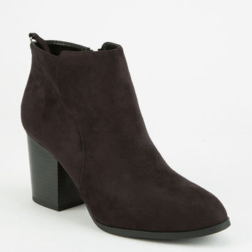 DELICIOUS Seamed Womens Booties