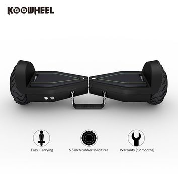 Koowheel 6.5 inch Bluetooth Hover Board Two Wheels Self Balance Electric Scooter Portable Hoverboard Cheap Overboard for Adults