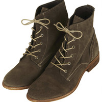 ALANYA Lace Up Suede Boots - Boots - Shoes - Topshop USA