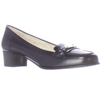 MICHAEL Michael Kors Lainey Mid Dress Loafers - Black