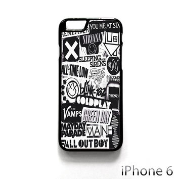 The XX Coldplay Arctic Monkey for Iphone 4/4S Iphone 5/5S/5C Iphone 6/6S/6S Plus/6 Plus Phone case