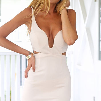 LIFETIME LOVE DRESS (NUDE)