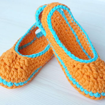 Crocheted Summer Slingbacks, optional Outdoor-Sole, comfort, washable