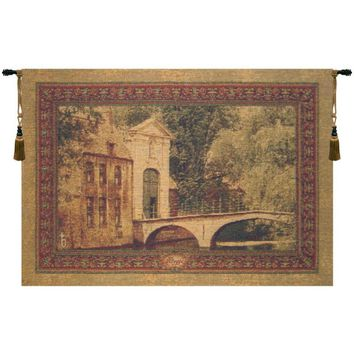 Brugge Small with Loops Belgian Tapestry