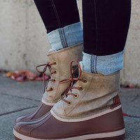 Scenic Route Boot - Chestnut