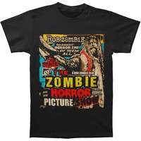 Rob Zombie Men's  Picture Show T-shirt Black