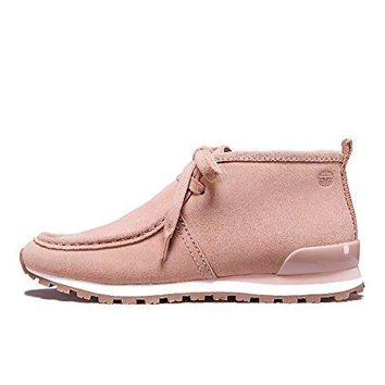 Tory Burch Tory Sport Chukka Suede Sneakers, Perfect Blush