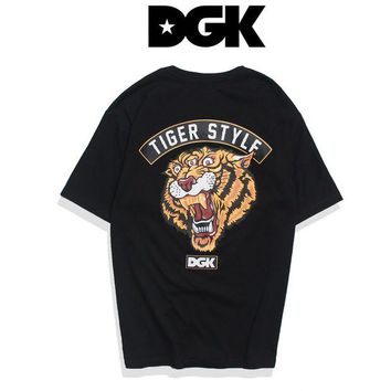 NOV9O2 DGK Woman Men Fashion Tiger Tunic Shirt Top Blouse
