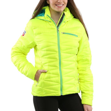 U.S. Ski Team Spyder Women's Timeless Jacket – Yellow