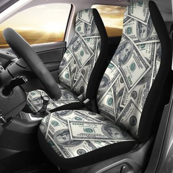 Money Car Seat Cover