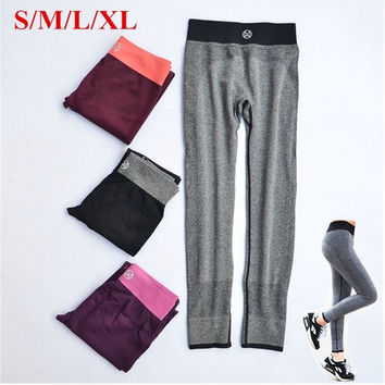 New Women Sport Elastic Workout Fitness Trouser Athletic Gym Yoga Running Sexy Leggings Pants = 1933222724