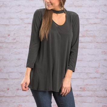 Plain And Simple Top, Black