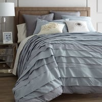 Blissliving Home Belgravia Ice Blue Bed Linens
