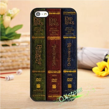 lord of the rings trilogy books fashion phone cover case for iphone 4 4s 5 5s SE 5c 6 6s 7 6 plus 6s plus 7 plus #wk0523