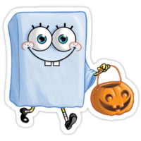 Spongebob Ghost Halloweenie