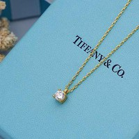 DCCK Tiffany & Co. Four-prong pendant