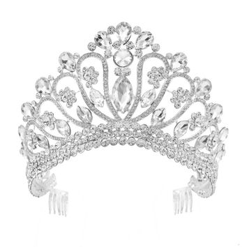 """Crystal"" Tiara Princess Crown"