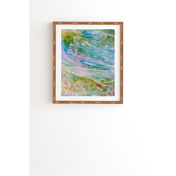 Rosie Brown Reflections In Watercolor Framed Wall Art