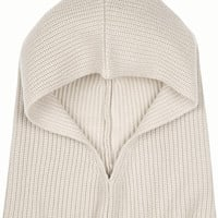 Chloé - Iconic ribbed cashmere hood