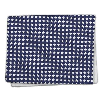 "Americana Stars Pattern 11""x18"" Dish Fingertip Towel All Over Print"
