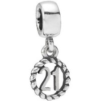 Authentic Pandora Jewelry - 21 Dangle Charm