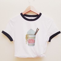 Minnie Cup Noodle Ringer Tee