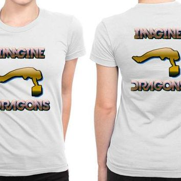 DCCKG72 Imagine Dragons Fly People B 2 Sided Womens T Shirt