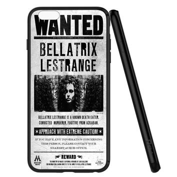 Bellatrix Lestrange Wanted Harry Potter Movies iPhone 6 | 6S Case Planetscase.com