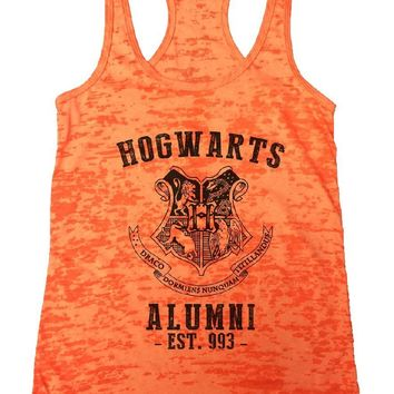 HOGWARTS ALUMNI - EST. 993 - Burnout Tank Top By Funny Threadz