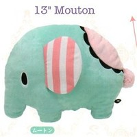 "San-X Sentimental Circus 13"" Plush: Mouton The Elephant"