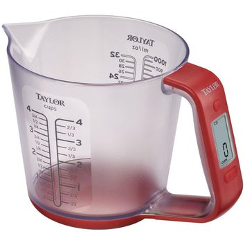 Taylor 6.6lb-capacity Digital Measuring Cup Scale