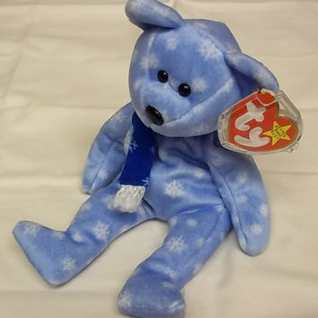 Ty Beanie Babies 1999 Holiday Teddy -- Used