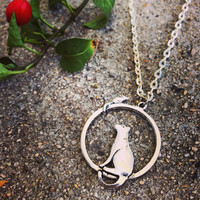 Cat & Mouse Chain Necklace