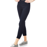 Aeropostale Womens Bree High-Waisted Black Wash Jeggings - Black,