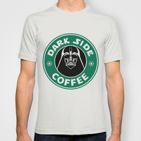 Dark Side Coffee T-shirt by Maurece