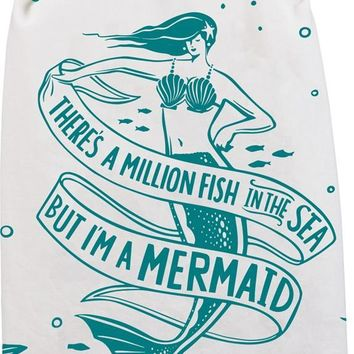 But I'm A Mermaid Dish Towel Set of 2