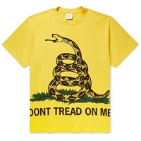 """Don't Tread On Me"" T-Shirt by Vetements"