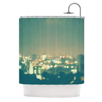"Myan Soffia ""Anniversary"" City Lights Shower Curtain"