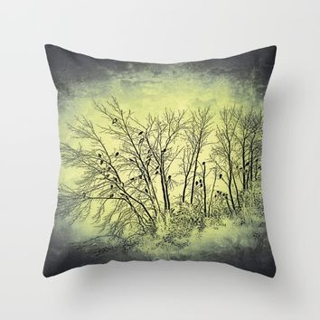 :: Vultures :: Throw Pillow by :: GaleStorm Artworks ::
