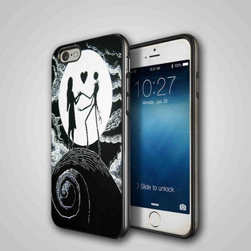 Love The Nightmare Before Christmas, iPhone 4/4S, 5/5S, 5C Series Hard Plastic Case
