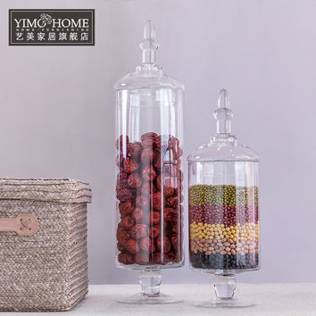 2 SET Glass Jars for Sweets Storage, Wedding Dessert Table,  Candy Buffet, Dessert Station and more