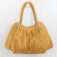 leaf bag in mustard - $42.99 : ShopRuche.com, Vintage Inspired Clothing, Affordable Clothes, Eco friendly Fashion