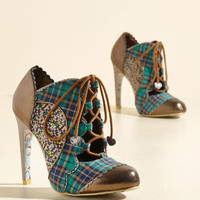 Irregular Choice Mix All the Difference Heel | Mod Retro Vintage Boots | ModCloth.com