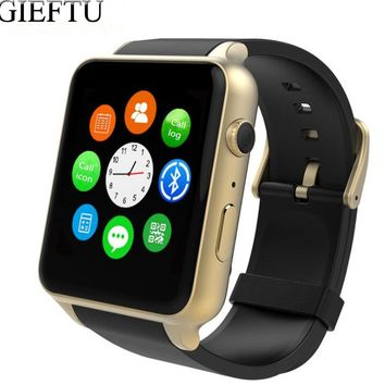 GT88 GSM SIM Card Bluetooth Sports Smart Watch with Camera and Heart Rate Monitor