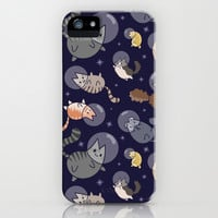 Space Cats iPhone & iPod Case by Shelby Hughes