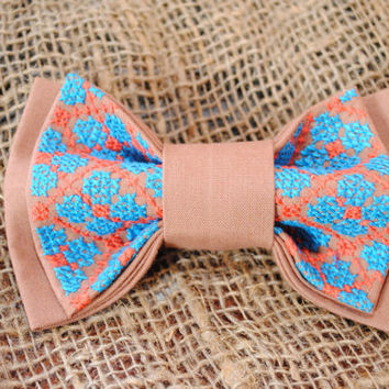 FREE SHIPPING Light brown bowtie Men's bowtie Gift idea for men Boyfriend's gift Gift for dad Men's bow ties Anniversary gifts Gift for boys