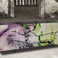 Sideboard with doors Grama Collection by CRAZY HOME | design Marco Grassi