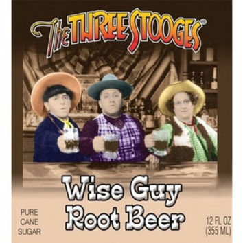 Three Stooges Wise Guy Root Beer