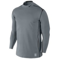 Nike Pro Combat Hyperwarm DF Fitted Mock 2.0 - Men's at Eastbay