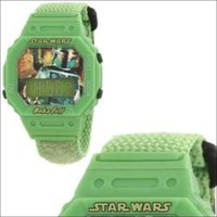 "Star Wars Kids"""" Boba Fett Digital Wrap Strap Watch"